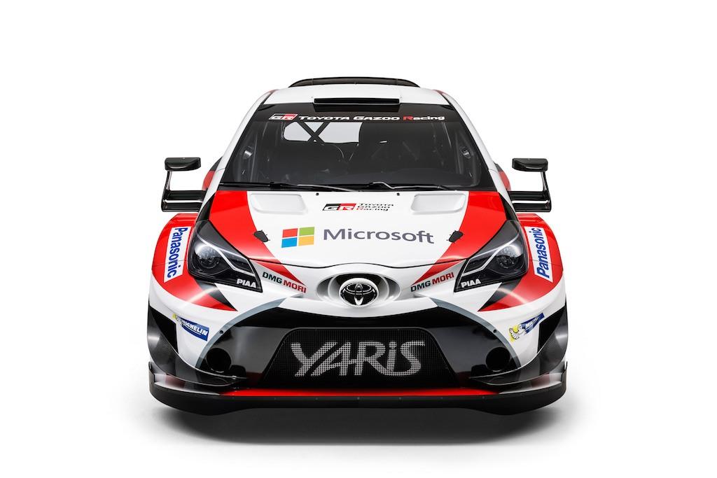 Toyota Yaris Gazoo WRC car   Toyota