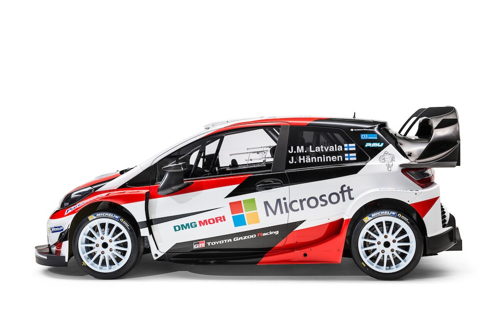 Toyota Yaris Gazoo WRC car | Toyota