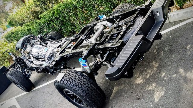 Exposed chassis