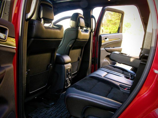 Jeep Grand Cherokee rear bench