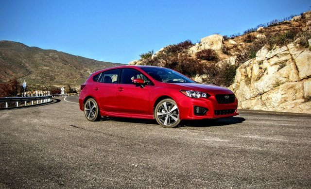 The 2017 Subaru Impreza hatchback offers an outstanding balance between sporty and sensible