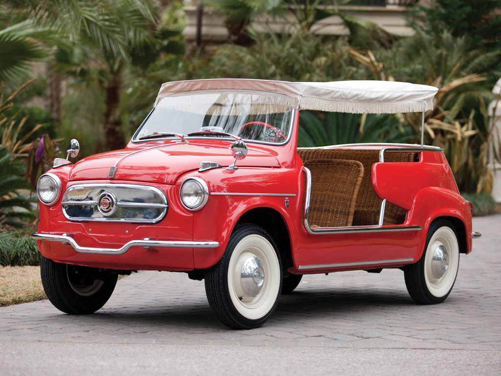1959 Fiat 600 Jolly by Ghia | RM Sotheby's