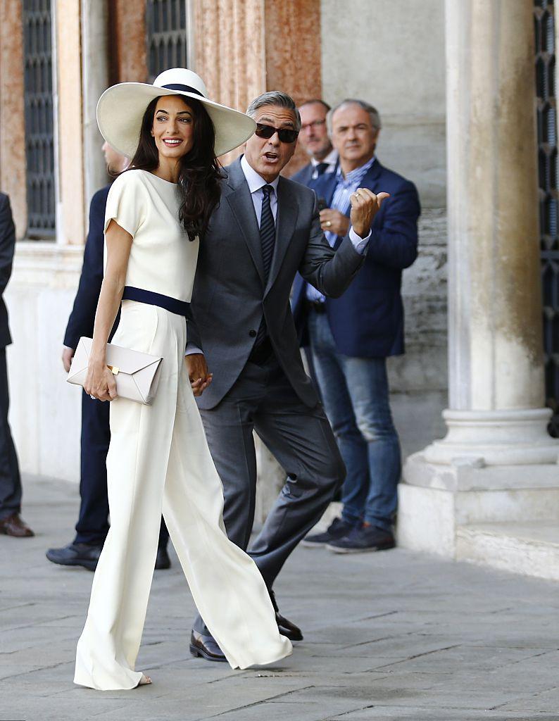 George Clooney and British lawyer Amal Alamuddin