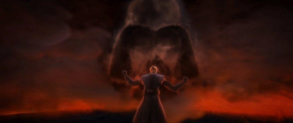 Anakin Skywalker on The Clone Wars