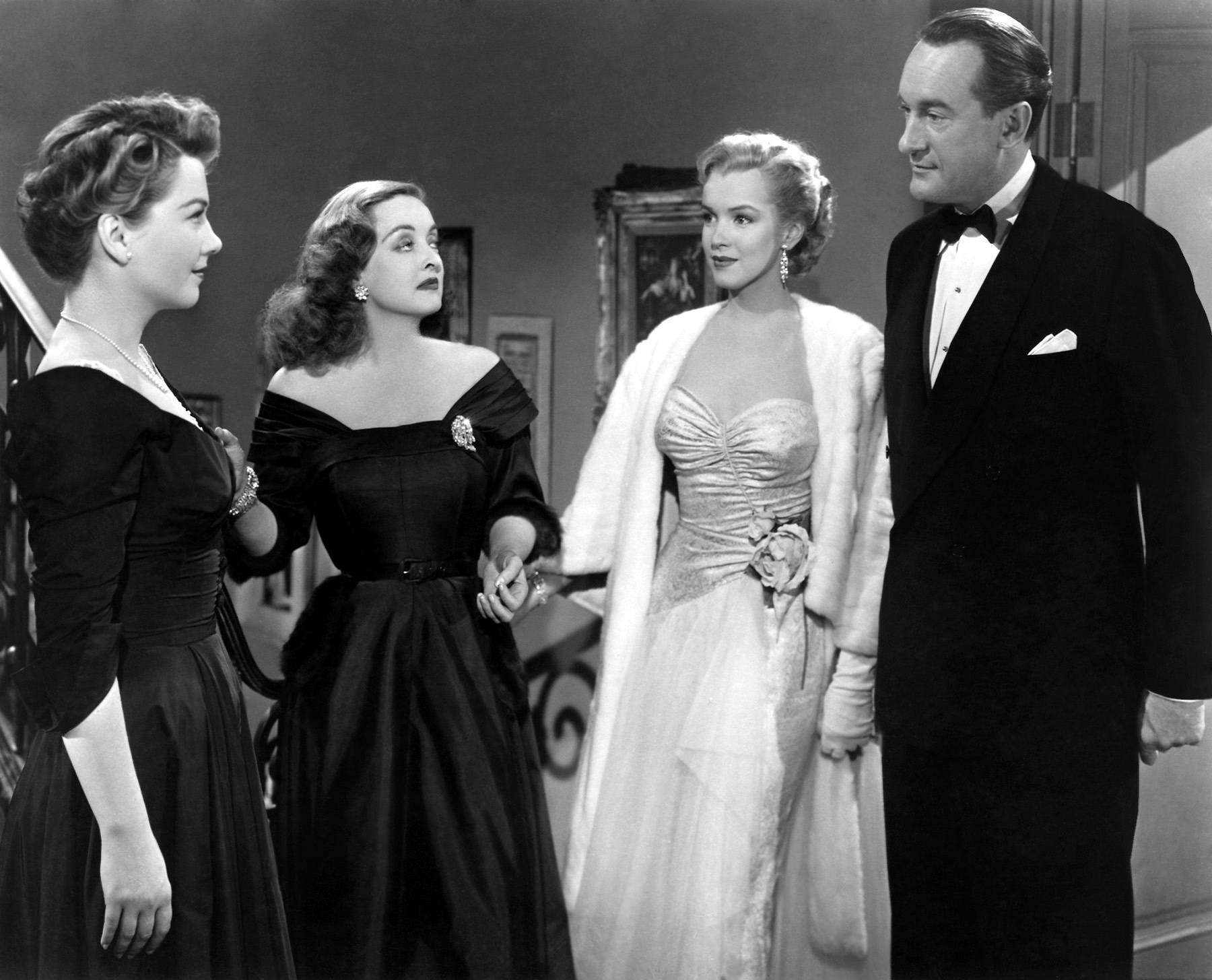 The cast of All About Eve talking.