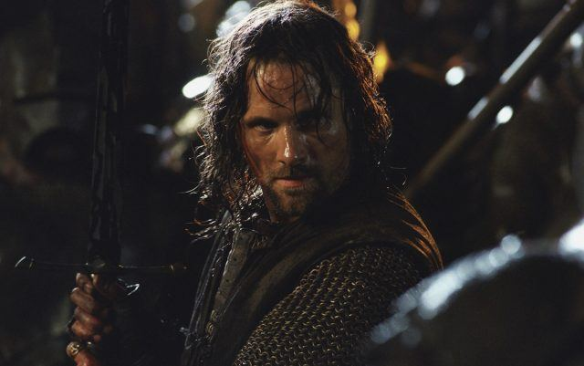 Aragorn (Viggo Mortensen) in 'Lord of the Rings'