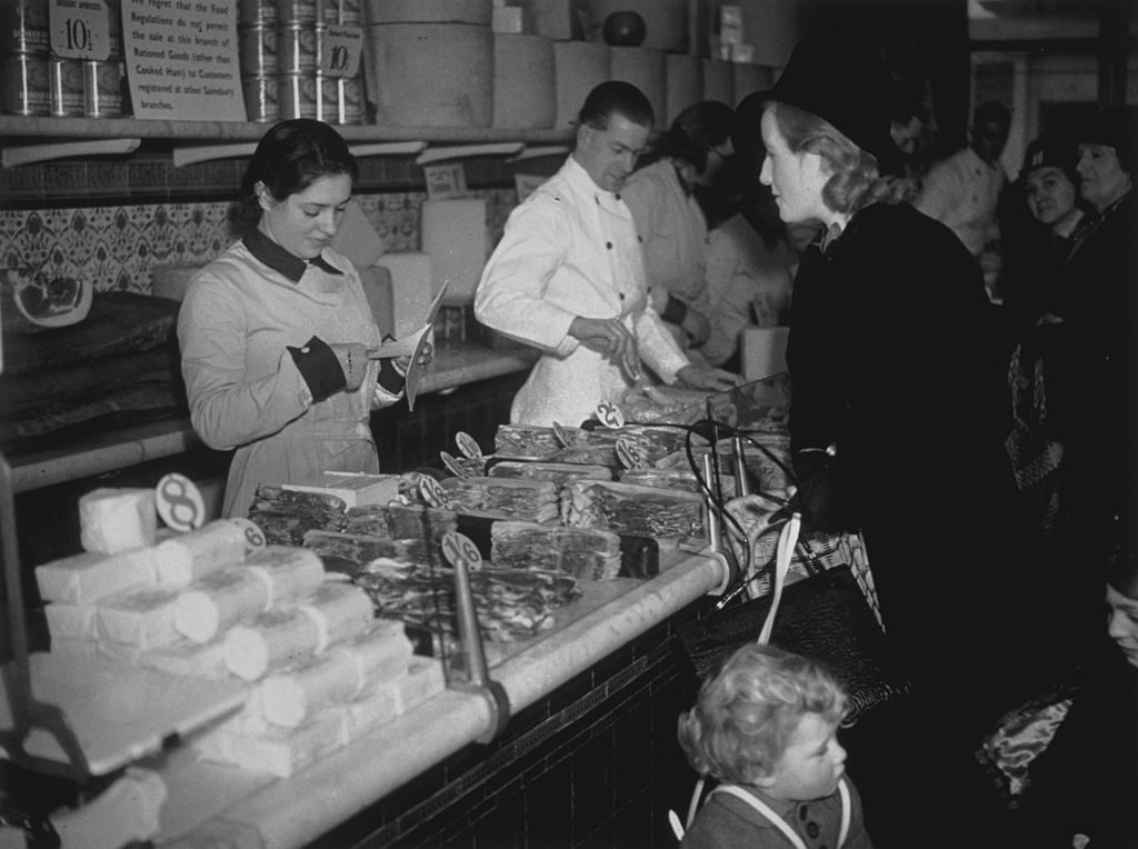 bacon rations during WWII