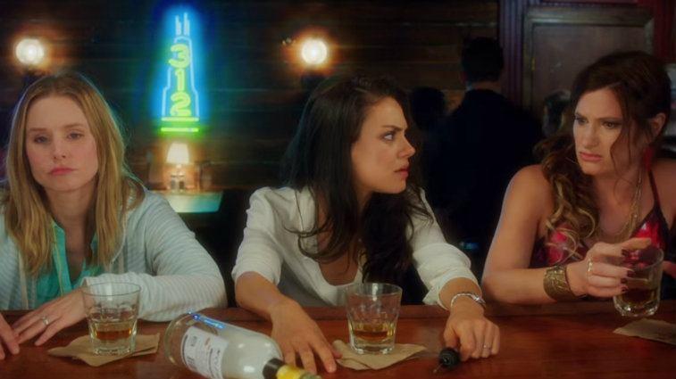 Kristen Bell, Mila Kunis and Kathryn Hahn in Bad Moms