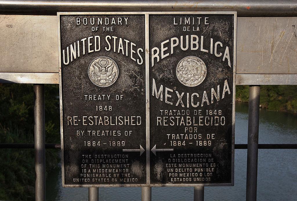 border at Laredo, Texas