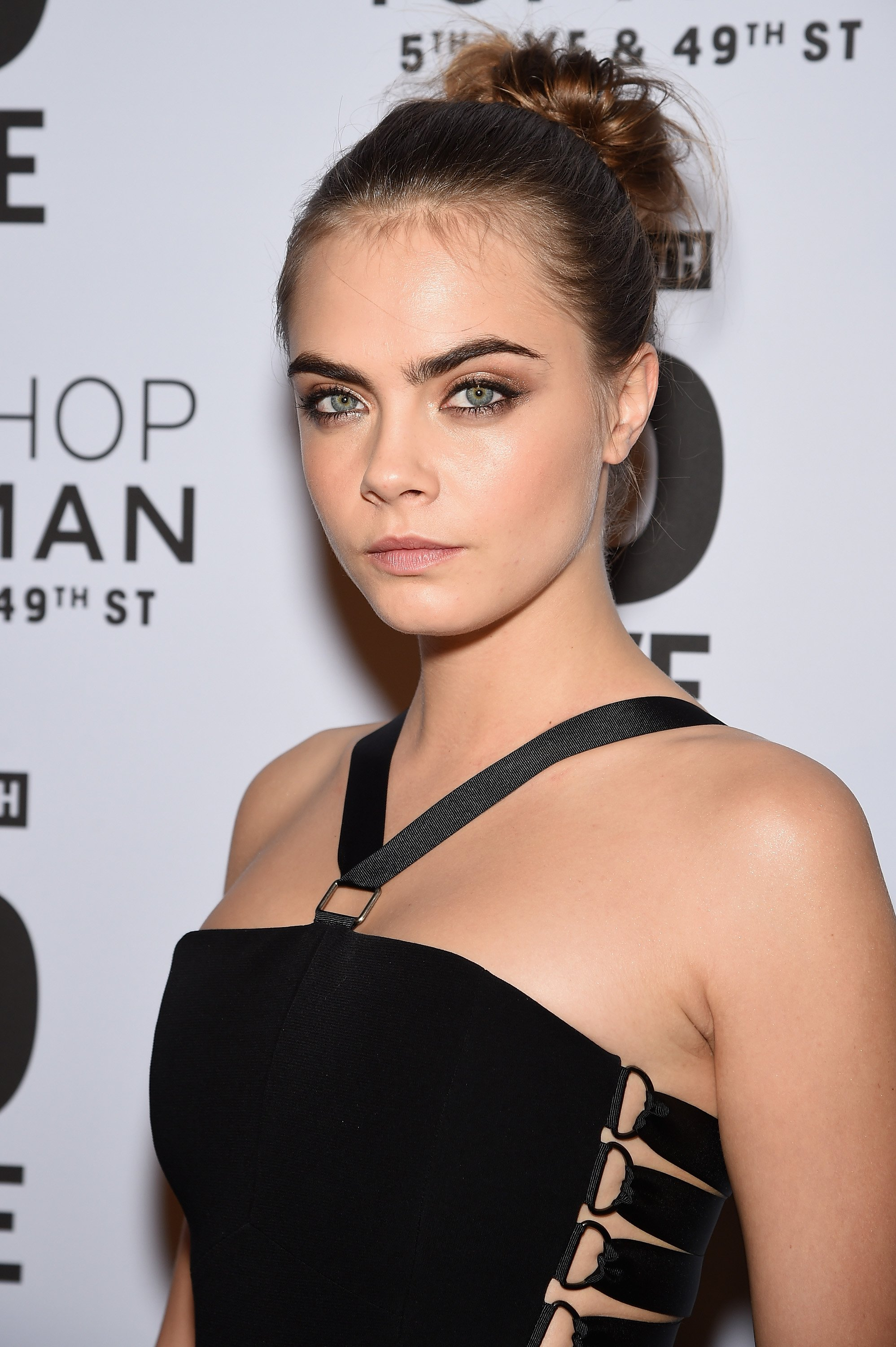 Model Cara Delevingne attends the Topshop Topman New York City flagship opening dinner