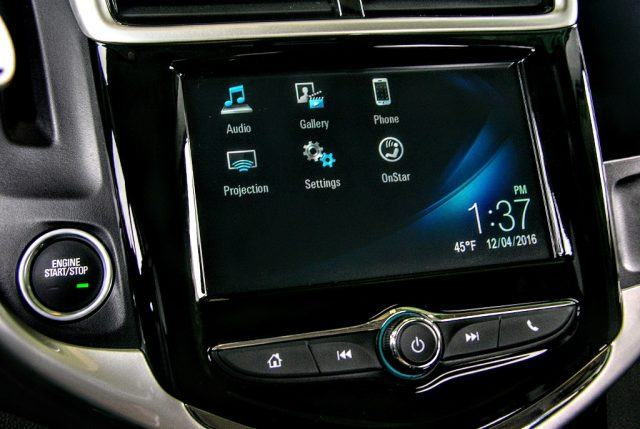 An available 7-inch diagonal touchscreen adds features and a colorful center stack focal point   Micah Wright/Autos Cheat Sheet