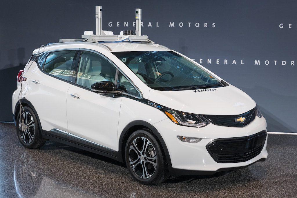 2017 Autonomous Chevrolet Bolt | Chevrolet