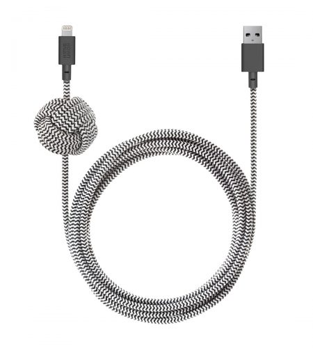 A cloth Lightning cable offers a retro-inspired way to upgrade one of your most-used iPhone accessories