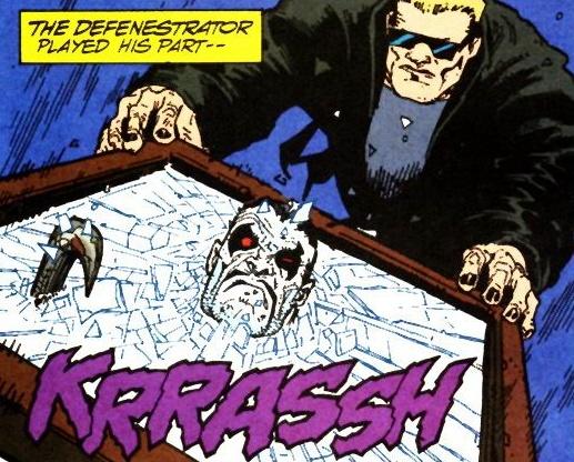 Defenestrator - DC Comics