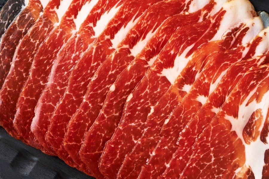dried pork meat