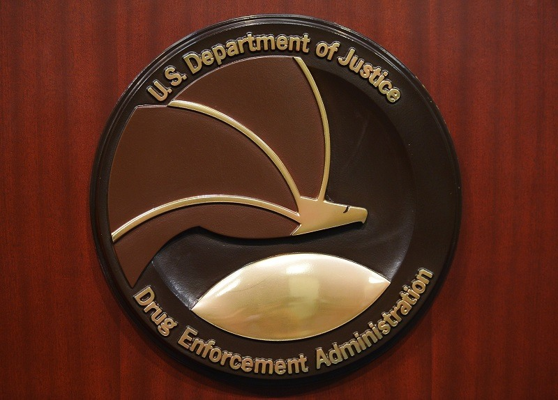 The Drug Enforcement Agency seal