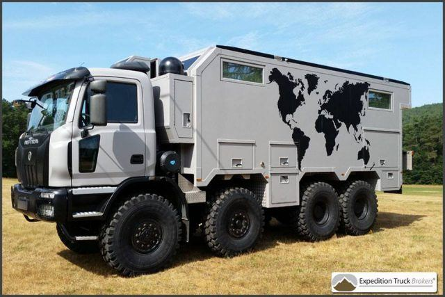 Expedition Trucks always has something insane on its for sale page, like this 8x6 behemoth for instance | Expedition Truck Brokers