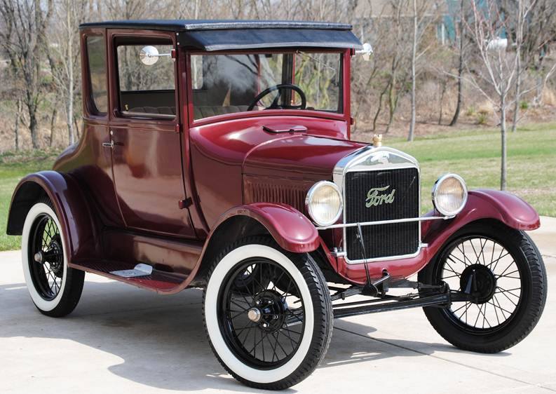 A Ford Model T, one of the oldest cars in the world.