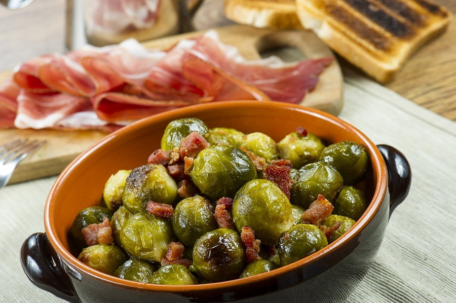 Brussel Sprouts Food Network Bacon
