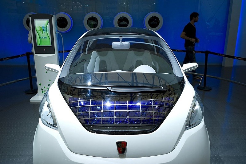 Roewe electric cars