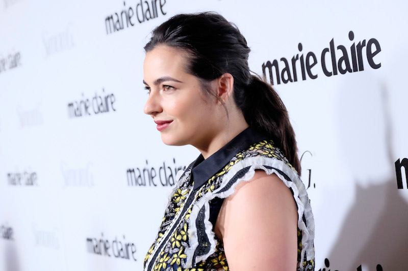 """Actress Alanna Masterson attends the """"Fresh Faces"""" party, hosted by Marie Claire,"""