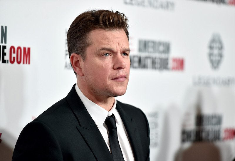 Matt Damon   Alberto E. Rodriguez/Getty Images