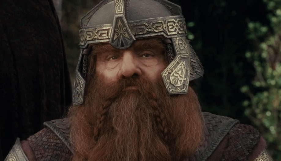 John Rhys-Davis as Gimli
