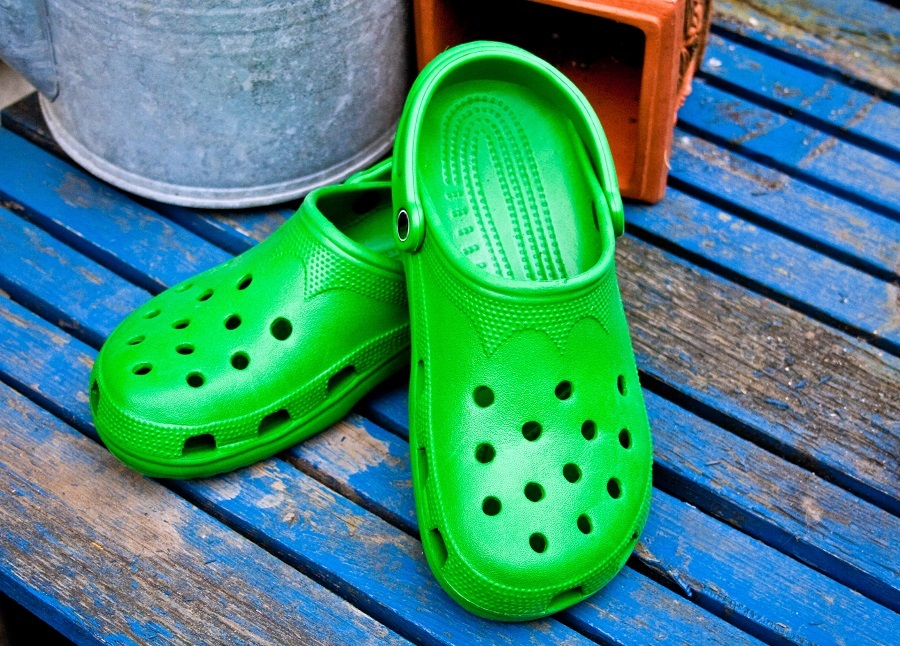 Green Garden Clogs