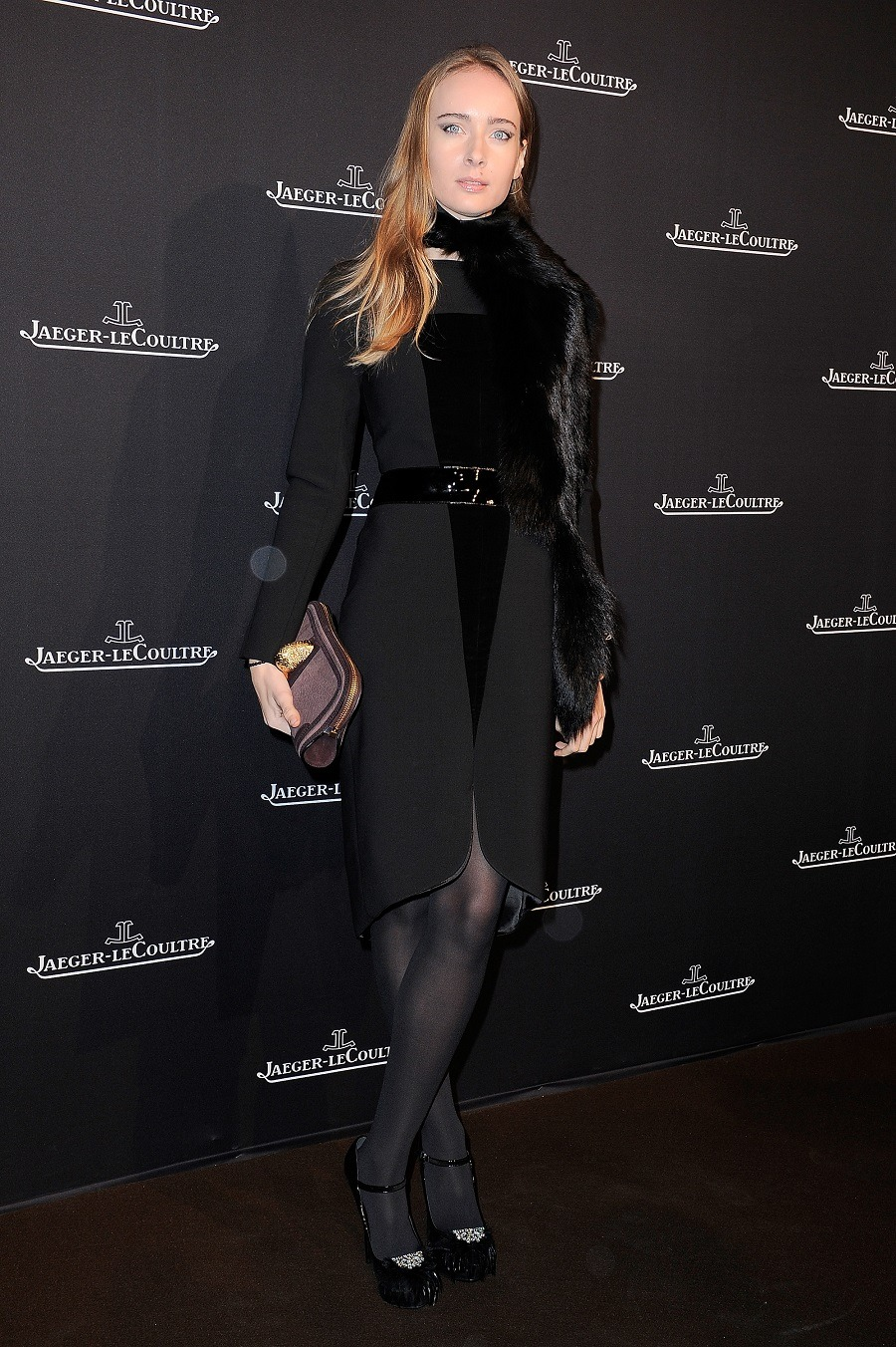 Olga Sorokina attends the Jaeger-LeCoultre Place Vendome Boutique