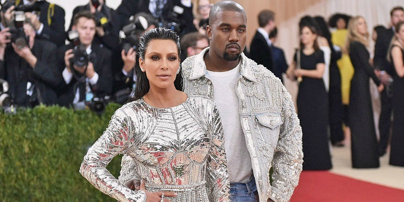 "Kim Kardashian and Kanye West attend the ""Manus x Machina: Fashion In An Age Of Technology"" Costume Institute Gala"