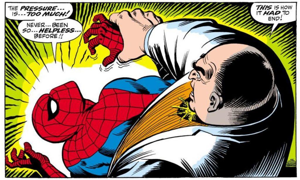 Kingpin vs. Spider-Man