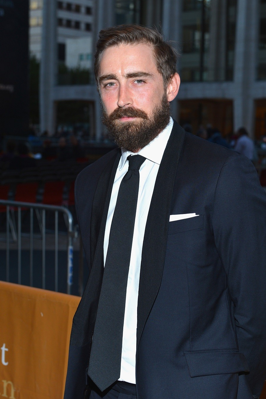 Actor Lee Pace attends the 2012 Metropolitan Opera Season Opening Night