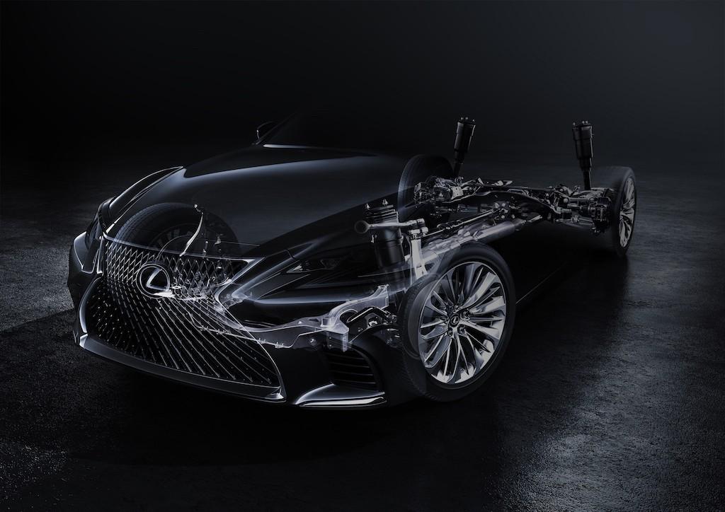2017 Lexus LS teaser