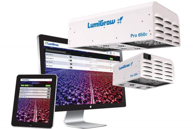 LumiGrow LED lights