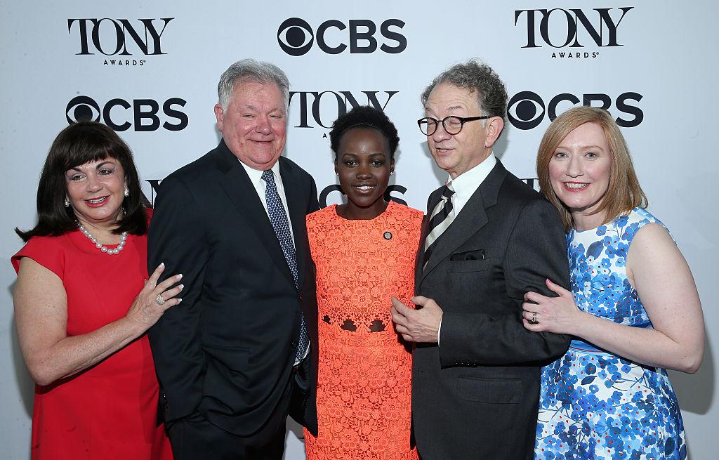 Actress Lupita Nyong'o attends the 2016 Tony Awards