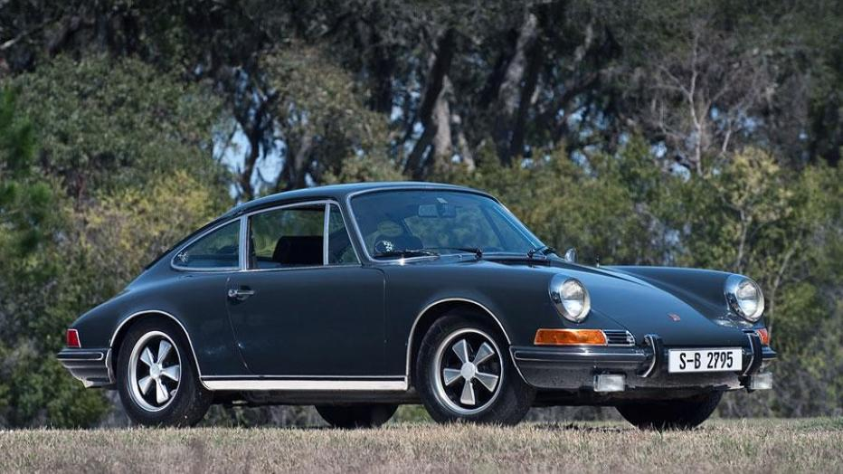 Steve McQueen cars were often the fastest around like this pictured 1970 Porsche 911 S.