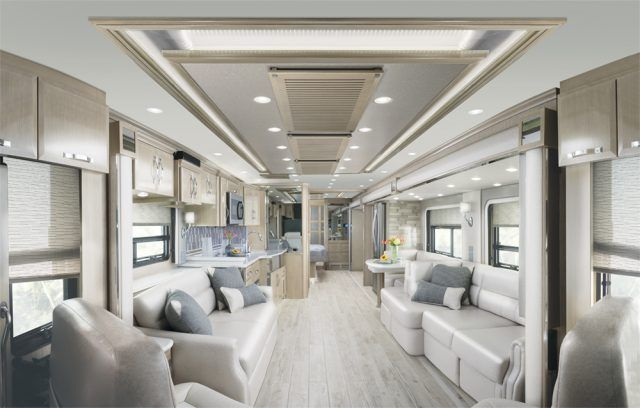 Newmar's King Aire line takes a unique, but very ornate approach to RV-making, and the amount of time, money, and energy that goes into making one is insane | Newmar