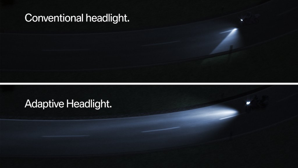 BMW Adaptive Headlight