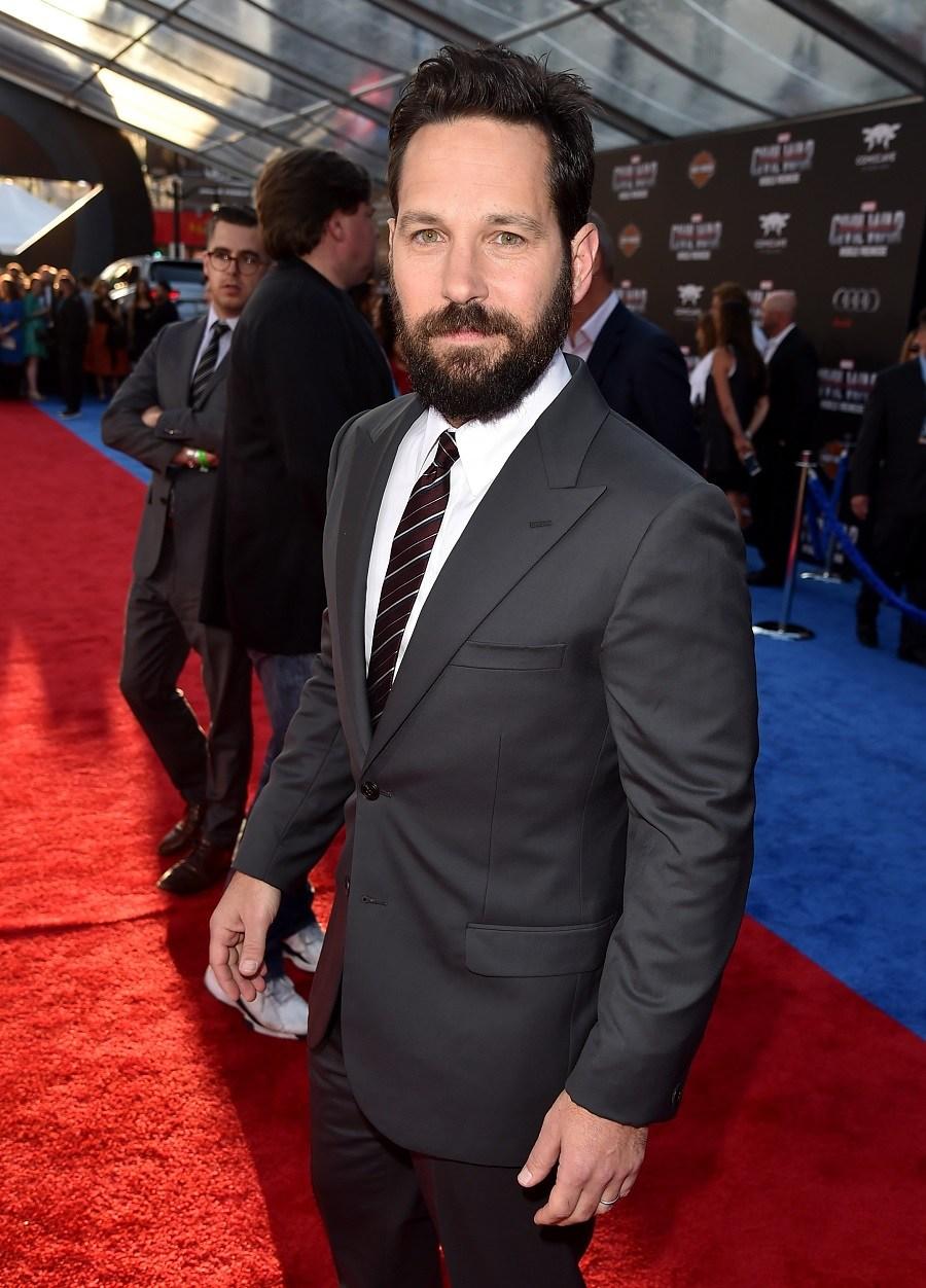 "Actor Paul Rudd attends the premiere of Marvel's ""Captain America: Civil War"""