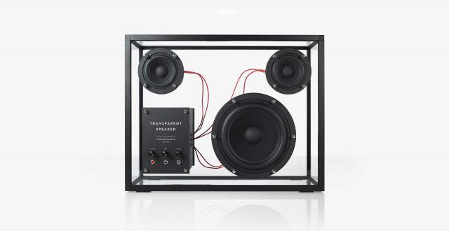 People Products Transparent Speaker