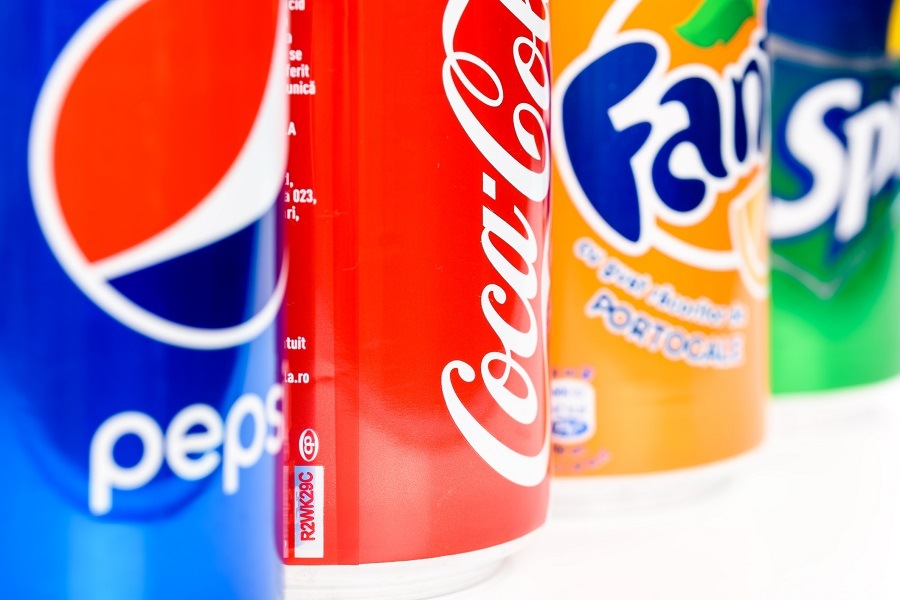 Pepsi, Coca Cola And Fanta