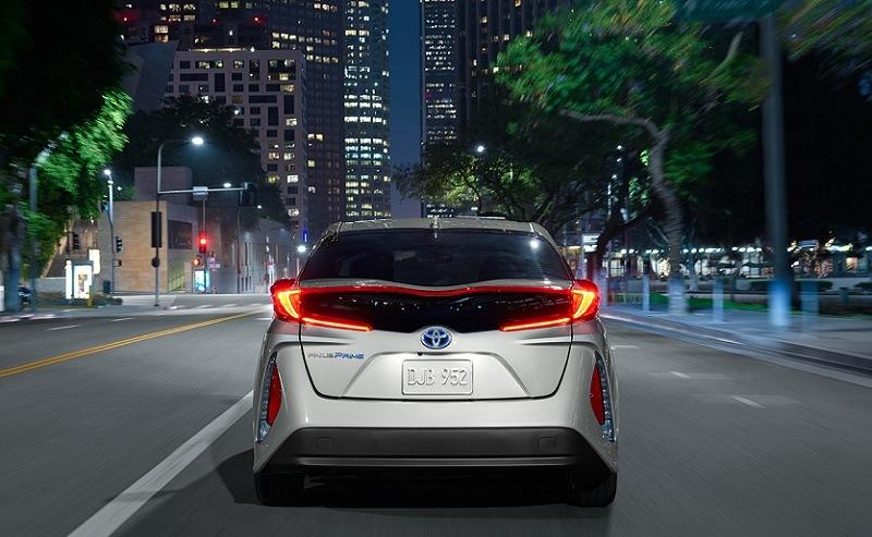Toyota Prius Prime back