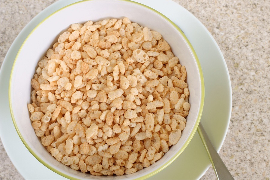 Brown rice is one of this cereal's main ingredients.