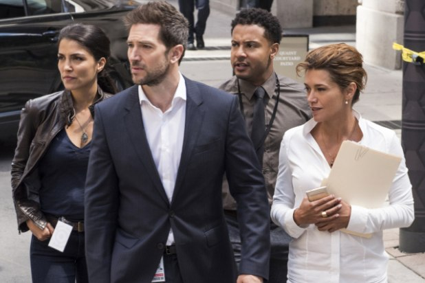 The cast of CBS's Ransom