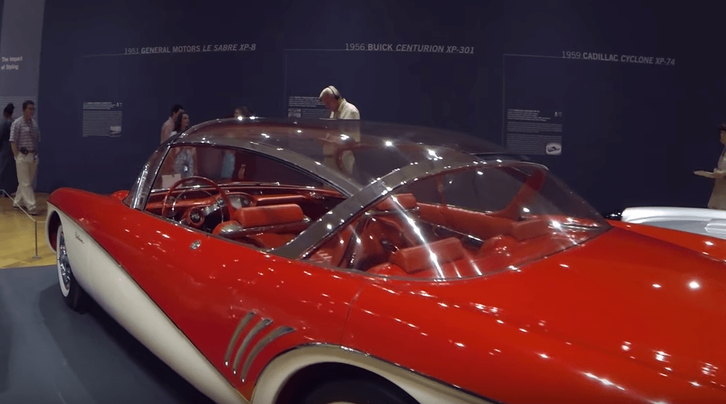 1956 Buick Centurion on display