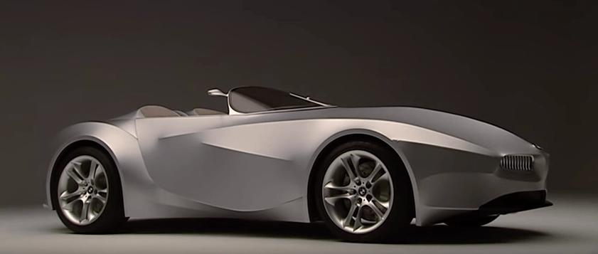 2001 BMW GINA Concept on display