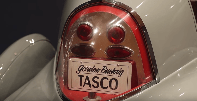 Close-up of a 1948 Tasco
