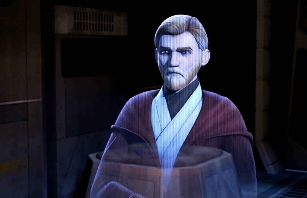 Obi Wan Kenobi on Star Wars Rebels