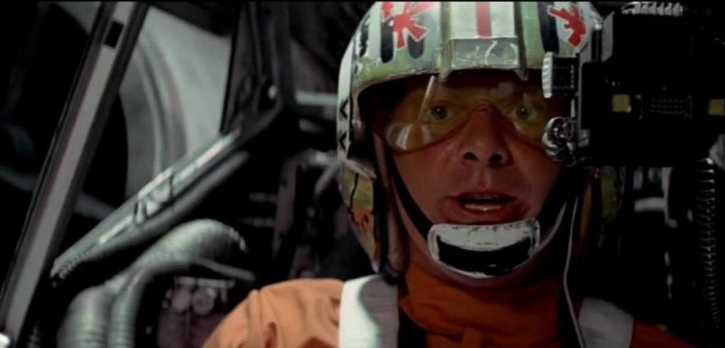 Red Leader in Star Wars: A New Hope