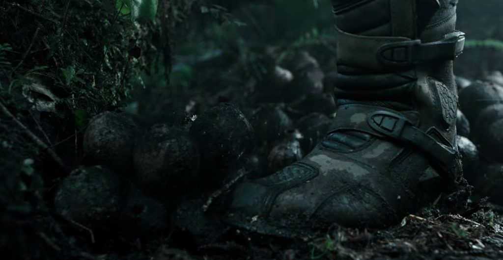 A different kind of alien egg in Covenant